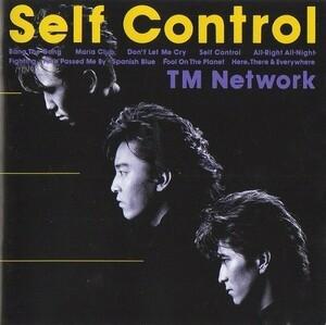 TM NETWORK TMネットワーク / Self Control セルフ・コントロール / 1987.02.26 / 4thアルバム / 32.8H-106