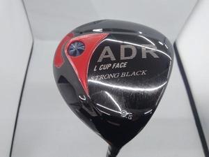 AKIRA ADR ドライバー アキラ L CUP FACE STRONG BLACK 9.5 BASSARA フレックスS