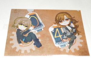 STEINS; GATE 0 Clear File Aman suzuha & Kiryu Moe Steins Gate ★ New Unopened