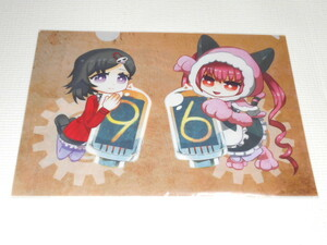 STEINS; GATE 0 Clear File Urushihara Ora & Feilis Nyan nyan Steins Gate ★ New Unopened