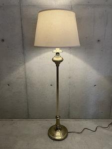 ヴィンテージ メタルベース フロアランプ アメリカ雑貨 インテリア コレクション 照明 ディスプレイ