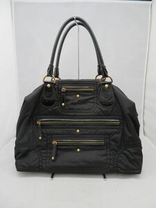iw148 中古品 TODS トッズ ナイロン ハンドバッグ