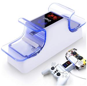 PS5 コントローラー 充電器 PS5 コントローラー 充電スタンド dualsense用 ダブル充電 収納 LED 指示ランプ付き