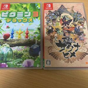 任天堂 Switch ゲームソフト 天穂のサクナヒメ ピクミン3