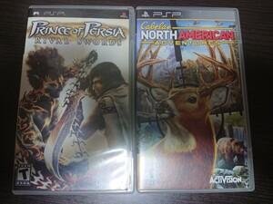 海外版PSPソフト 2点セット