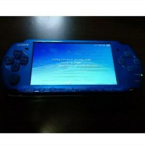 ソニー PSP 3000 本体 スカイブルー/マリンブルー