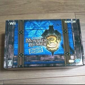 Wii モンスターハンター3(トライ) リミテッドエディション