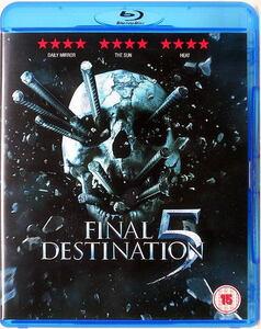 DVD【ファイナル・デッド・ブリッジ】UK盤・ブルーレイケースに入れ替え