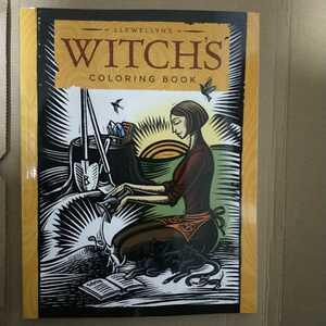 洋書 WITCH'S 魔女の塗り絵