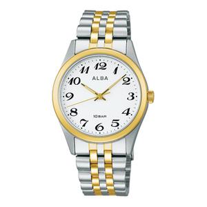 送料無料★特価 新品 セイコーアルバ正規保証付き★SEIKO ALBA メンズ腕時計 10気圧防水 耐磁時計 AEFK424★プレゼントにも最適