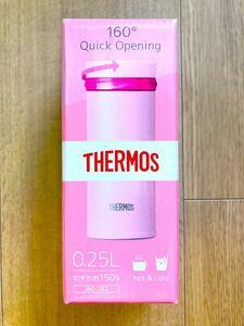 サーモス ステンレス製携帯用まほうびん ピンク