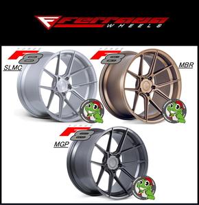 正規 Ferrada wheels Forge-8 FR8 20X11.5J 5/114.3 +30 SLMC MBR MGP 3色選択 国産車 フェアレディZ GT-R 等 フェラーダ