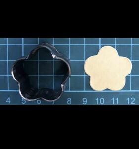 5枚花の抜き型 オーダーメイド レザークラフト
