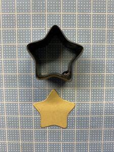 星② 3センチの抜き型 オーダーメイド レザークラフト