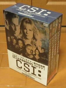 【訳あり新品未開封品】CSI:科学捜査班 シーズン7 コンプリート・ボックスⅡ / DVD