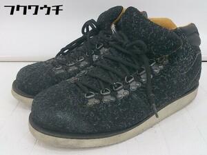◇ MAD FOOT マッドフット MAD LANDER2 ハイカット スニーカー シューズ サイズ27cm ブラック メンズ