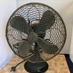 芝浦 12 Inch A.C EIectric Fan 扇風機 昭和レトロ扇風機 アンティーク 動作品 ヴィンテージ コレクション 小道具(R049)