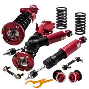 Maxpeedingrods Ford Mustang 05-14 total length adjusting shock-absorber suspension 24 step attenuation adjustment red