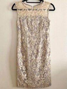 グレースコンチネンタル ダイアグラム ドレス ワンピース お呼ばれ 結婚式 刺繍 レース