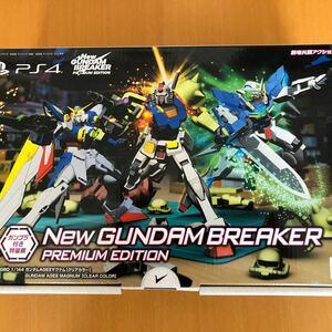 新品未使用 PS4 ソフト Newガンダムブレイカー プレミアムエディション ガンプラ付き特装版