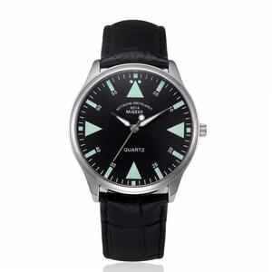 ■★メンズ腕時計 ファッションカジュアル腕時計 革ベルト MG 063