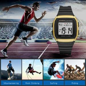 ●1円スタート ★メンズ腕時計 スポーツ腕時計 防水 ストップウォッチ機能 227