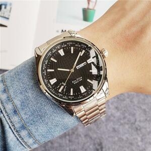 ■★メンズ腕時計 ファッション腕時計 シンプルデザイン 大人のカジュアル腕時計 111