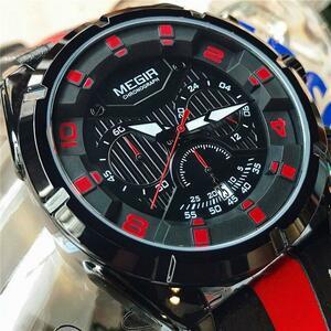 ●★メンズ腕時計 ファッション腕時計 スポーツ腕時計 防水 MG178