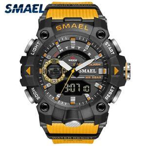 ●★メンズ腕時計 LED デジタル腕時計 防水 スポーツ腕時計 186