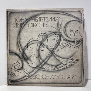☆即決☆【新宿ALTA】 JOHN HEARTSMAN & CIRCLES / MUSIC OF MY HEART ( VC4508 ) US-ORIGINAL 難有