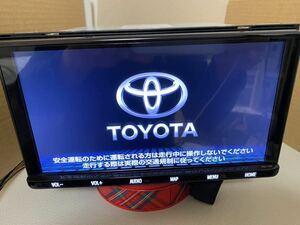 美品 NSZT-Y68T トヨタ純正9インチSDナビ フルセグ地デジ Bluetooth DVD 地図SD 2019年秋版