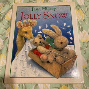 絵本 英語 JOLLY SNOW