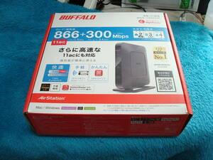 BUFFALO 11ac 866+300 対応高速Wi-Fi WHR-1166HP 送料無料