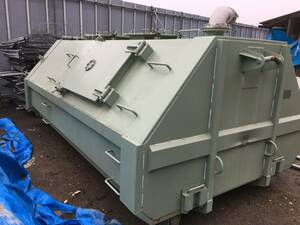 waterproof processing waterproof disaster. hour. water armroll Sumitomo Heavy Industries cake .. valid 4.0 maximum 7.2 air-tigh type special container drainage system for . water environment for 4 ton car for