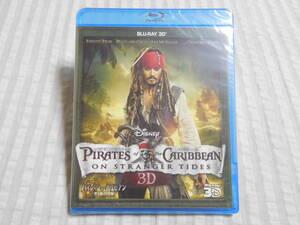 新品 送料込み パイレーツ オブ カリビアン 生命の泉 3D Blu-ray のみ ブルーレイ 日本正規版 ディズニー DISNEY