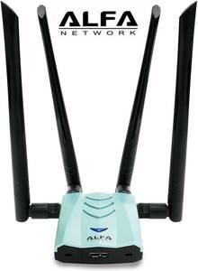 【即決 送料無料 匿名配送】ALFA AWUS1900★ウルトラハイパワー 11ac/a/b/g/n対応 無線LAN USB3.0アダプター