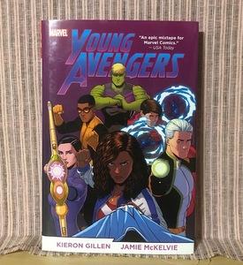 ※値下げ交渉可 希少本 アメコミ 英語  ヤング・アベンジャーズ 【 Young Avengers by Kieron Gillen & Jamie McKelvie Omnibus  】