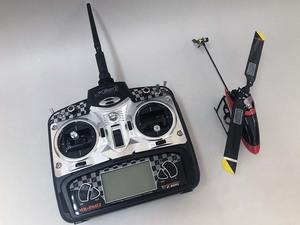 ☆6ch小型ヘリ プロポ付き 2.4GHz WK-2603 ワルケラ(WALKERA) 充電器無 管理番号[F0-1108]