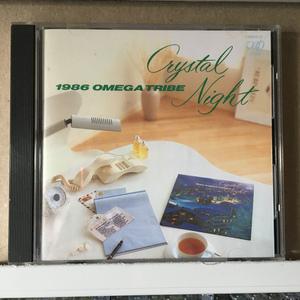 1986オメガトライブ「Crystal Night」*カルロス・トシキ&オメガトライブ *ヒット曲「Super Chance」を収録した2枚目のアルバム *国内盤