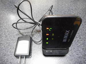モバイルWiMAXルータ Aterm WM3600R ブラック クレードル付属 イーサネットコンバータとして利用可能(テレビをWiFiに接続等)
