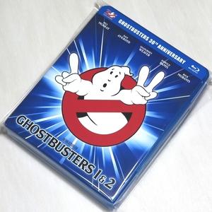 〇 30周年 ブルーレイ Blu-ray ゴーストバスターズ 1 & 2 Ghostbusters 2本セット 日本語字幕・吹替 DTS-HD 5.1ch 新品 〇