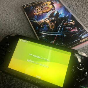 PSP 本体 ジャンク品 MH3 モンハン
