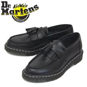 正規 Dr.Martens (ドクターマーチン) 26805001 ADRIAN WS タッセルローファー レザーシューズ BLACK UK8-約27.0cm