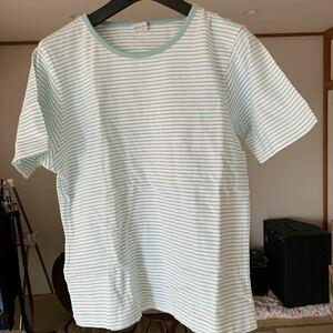 AQUA BLUES ボーダーTシャツ 半袖