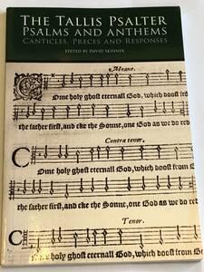 洋書 The Tallis Psalter Psalms and Anthems トーマス・タリスの合唱曲集「大主教パーカーのための9つの詩編曲」「If ye love me」楽譜