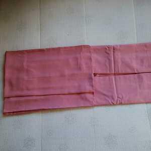 道中着 正絹 裄70・5センチ リメイク作品 ピンク