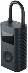 ブラック xiaomi 空気入れ 電動 小型電動ポンプ USB充電式 2000mAH 電動エアコンプレッサー 電動車 自転車 自