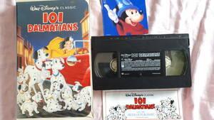 ♪♪【英語版】VHSビデオテープ ディズニー映画 101匹ワンちゃん ♪♪