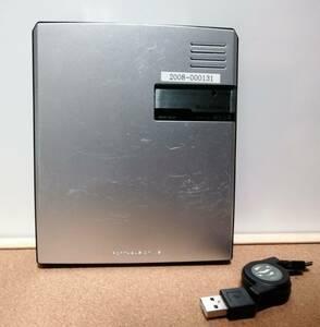 【送料無料】ジャンク I-O DATA アイ・オー・データ機器 バスパワー対応ポータブルDVD-ROMドライブ DVDP-U8P