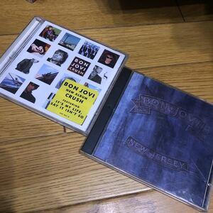 送料無料 BON JOVI CD2枚まとめ ボンジョビ 輸入盤